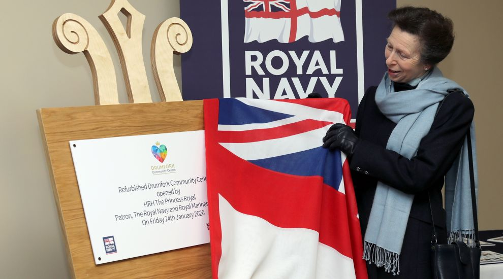 Princess Royal opens new community hub for military families