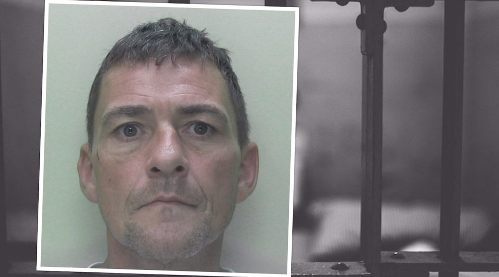 Serial offender jailed for stamping on man's head