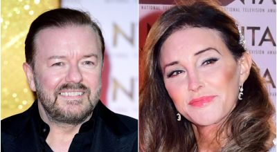Ricky Gervais denies being snubbed by Caitlyn Jenner at the NTAs