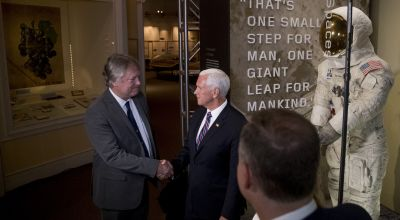 US vice president remembers Neil Armstrong on Apollo 11 anniversary