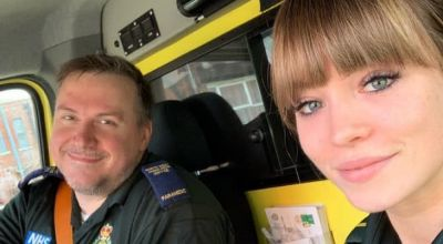 Father and daughter ambulance-workers urge public to 'hang in there'