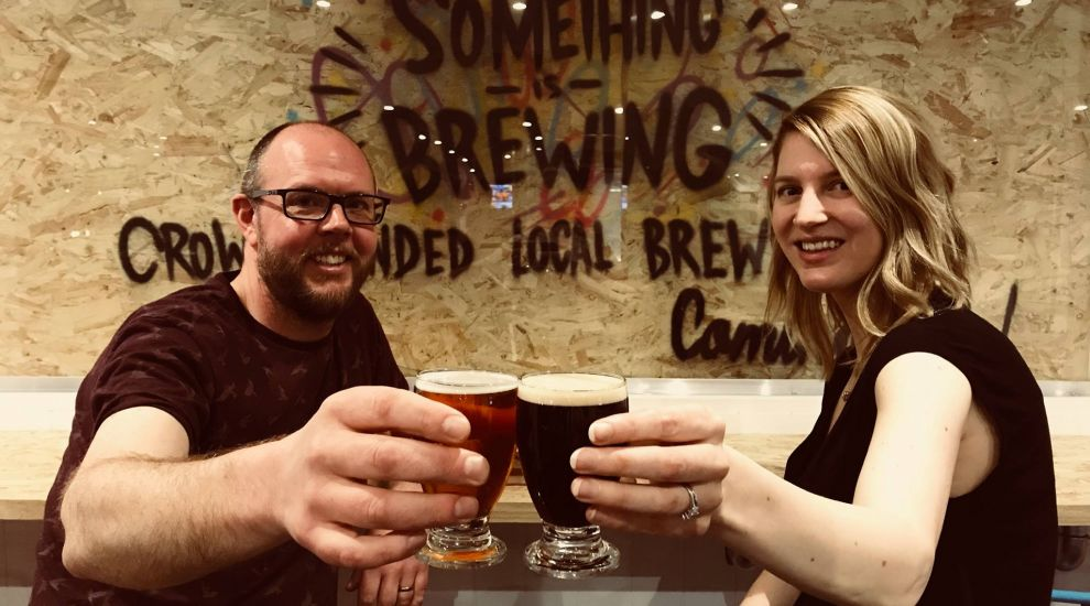 Couple set up Jersey's first crowdfunded brewery