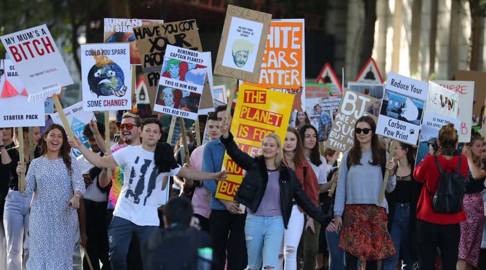 In Pictures: Millions join strike for climate action