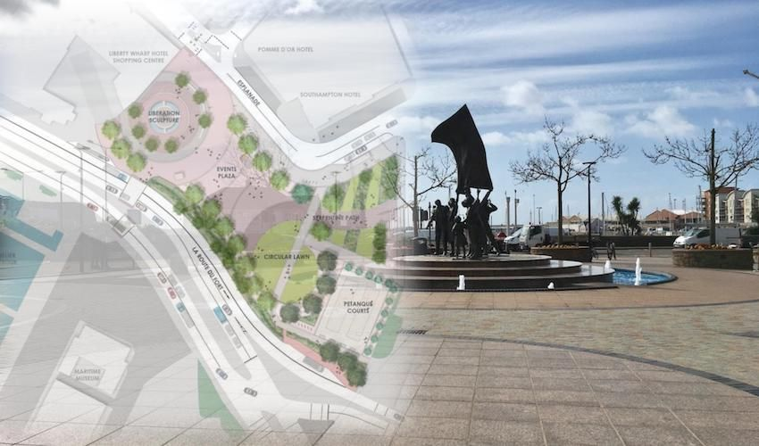 IN PICTURES: £1.4m Liberation Square revamp plans unveiled