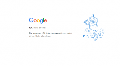 Google Calendar suffers outage
