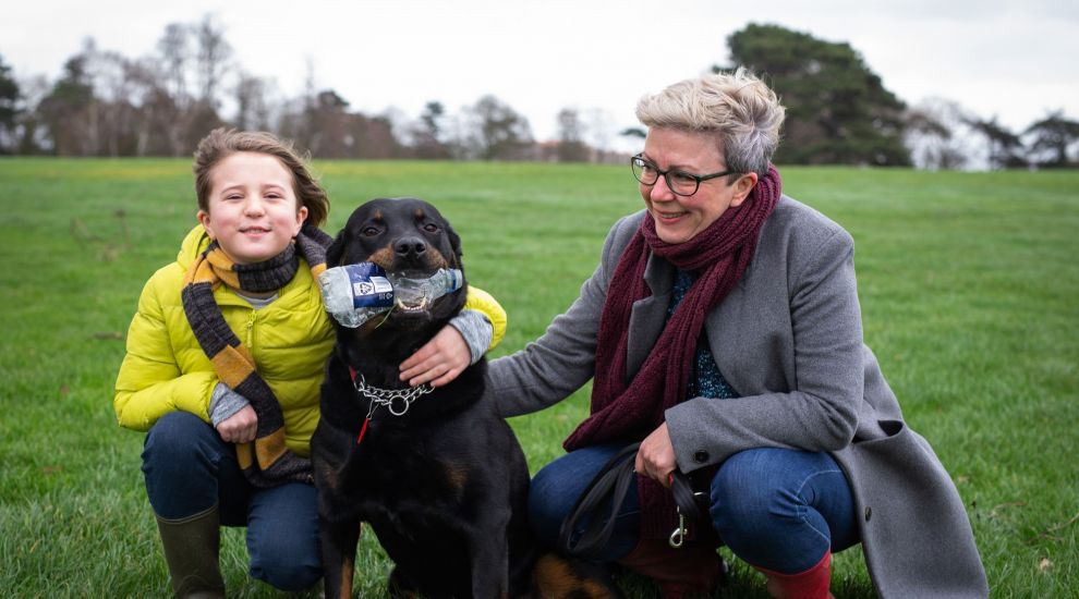 Meet Maggie, the litter-picking dog cleaning up London parks