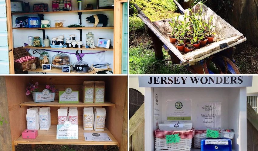 Honesty boxes welcome new treats