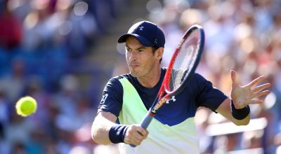 Murray's in the swing as he steps up his recovery after surgery