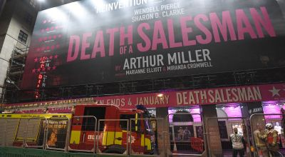 Team who 'saved' Death Of A Salesman shortlisted for stage award