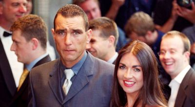 Vinnie Jones tells of 'heavy grief' after wife's death